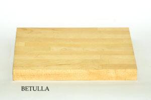 Mensole su misura e top bagno su misura in Betulla